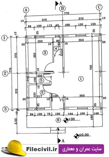 پروژه متره و برآورد ساختمان بتنی مهندس باغبانی