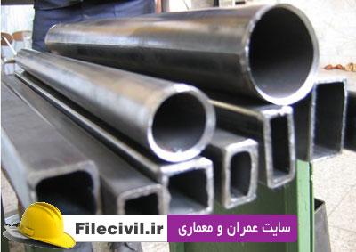 مقاله طرح اقتصادی اعضای فولادی