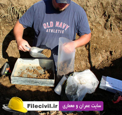 دانلود پاورپوینت تاثیر ترکیب شیمیایی خاک بر رفتار خاک