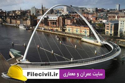 فیلم پل کج Gateshead لندن