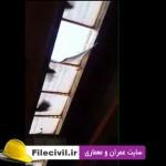 دانلود فیلم حادثه سقوط مردی از پل در تهران