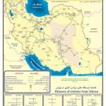 دانلود نقشه شبکه حمل و نقل راه آهن ایران