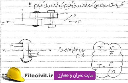 جزوه مقاومت مصالح 1 دانشگاه تهران دکتر جوهرزاده